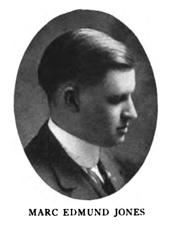 photo of Marc Edmund Jones around age 26